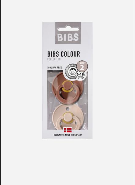 Bibs fopspeen natuurrubber woodchuck - blush