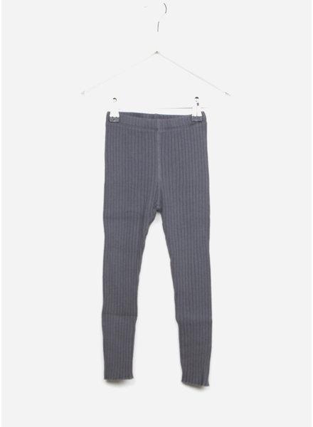 Play Up ribbed rib legging - grey