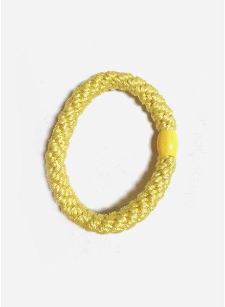 Bon Dep knekki yellow glitter