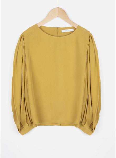 By Bar girls chloe blouse mustard