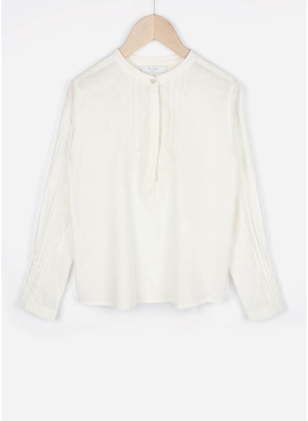 By Bar girls stella blouse off white