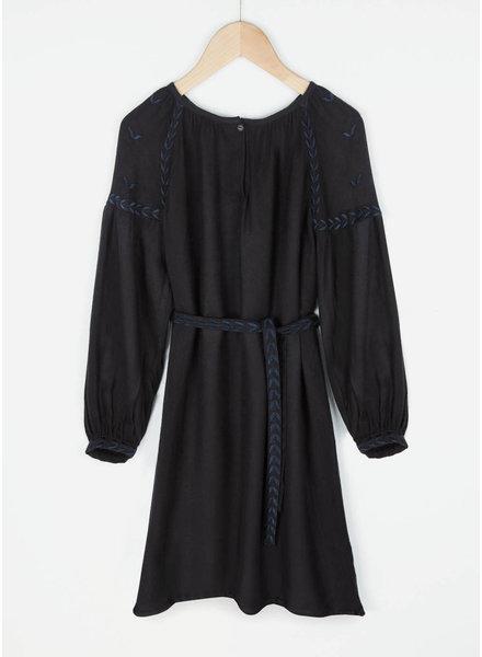 By Bar girls anna dress jet black