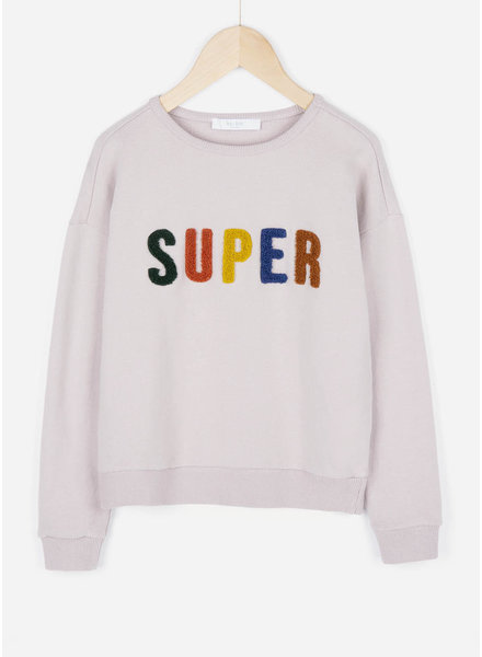 By Bar girls becky sweater lilac grey