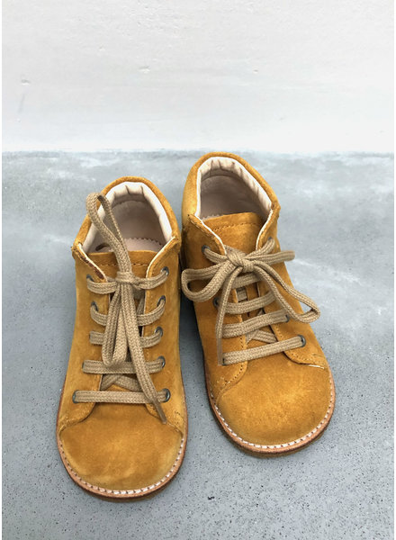 Angulus starter boot with laces - yellow