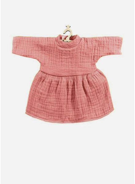 Minikane poppenkleertjes jurk faustine rose