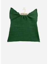 Minikane poppenkleertjes jurk augustine groen