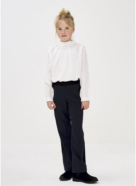 By Bar girls loiza stripe blouse white