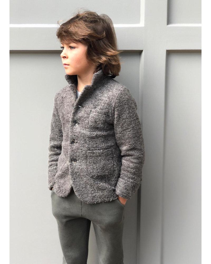 Club Cinq como jacket woolmix