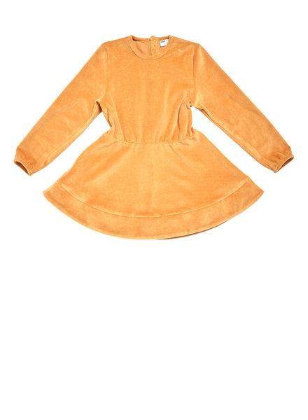 Maed for mini golden grasshoper dress