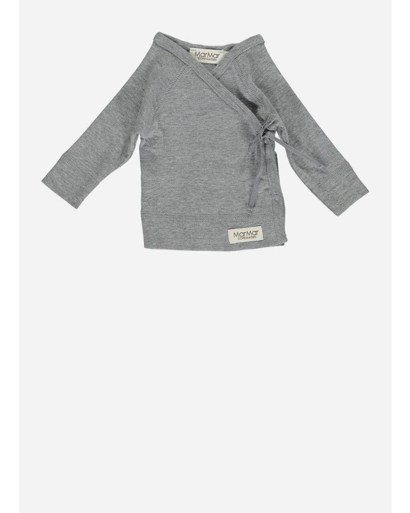 MarMar Copenhagen new born tut wrap ls grey melange