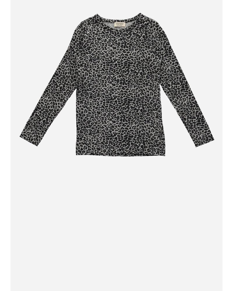 MarMar Copenhagen leo tee grey leopard