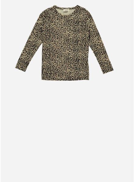 MarMar Copenhagen leo baby tee brown leopard