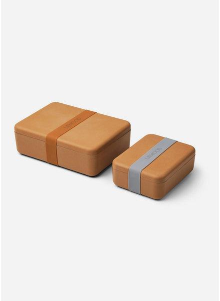 Liewood bradley lunchbox set mustard