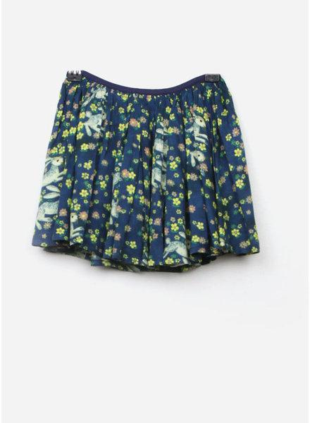 Morley mona bunny navy skirt