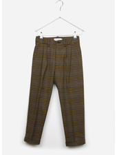 East end highlanders suit pants - beige/black