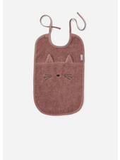 Liewood theo therry bib cat dark rose