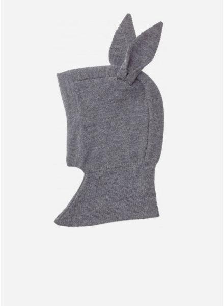 Liewood sirius knit hat rabbit grey melange