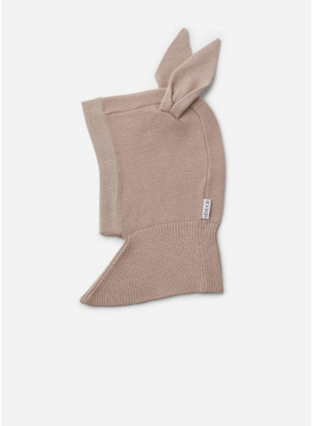 Liewood sirius knit hat rabbit rose