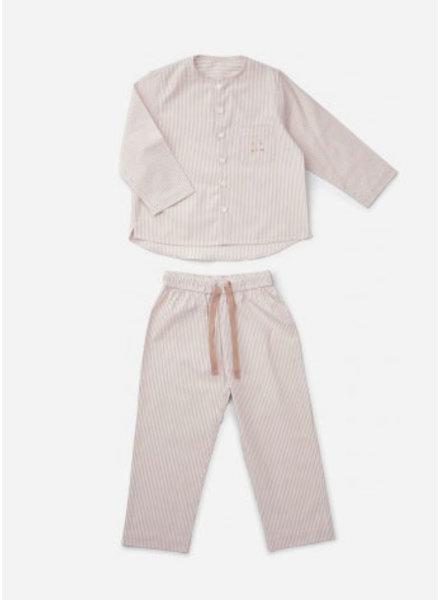 Liewood olly pyjamas set rose white