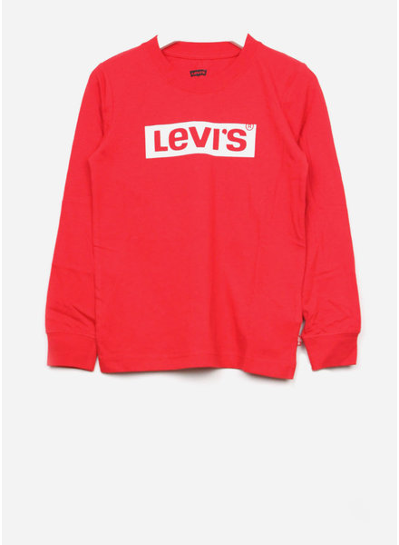Levi's tee shirt - super red