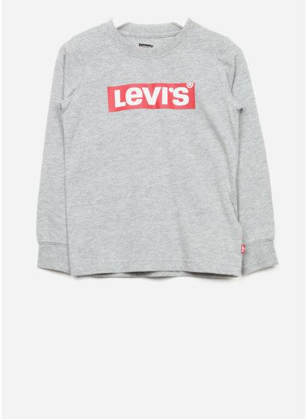 Levi's tee shirt - grey heather longsleeve