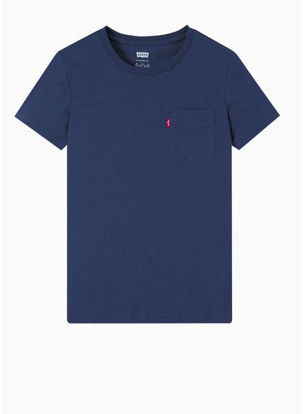 Levi's tee shirt - dress blues