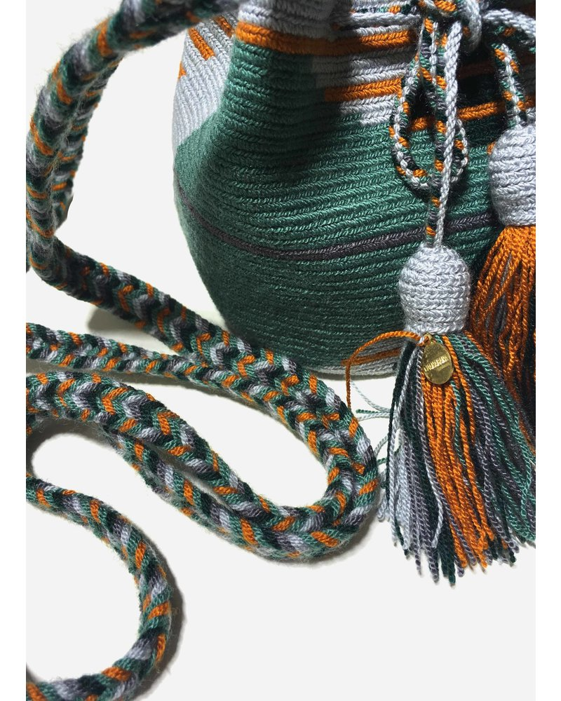Guanabana extra small Wayuu bag 1432