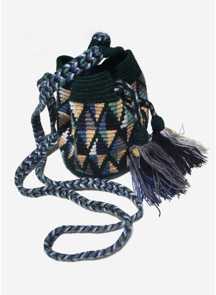 Guanabana extra small Wayuu bag 1441