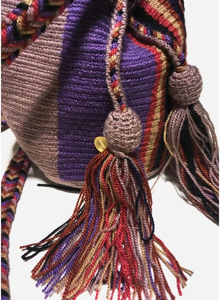 Guanabana extra small Wayuu bag 1427