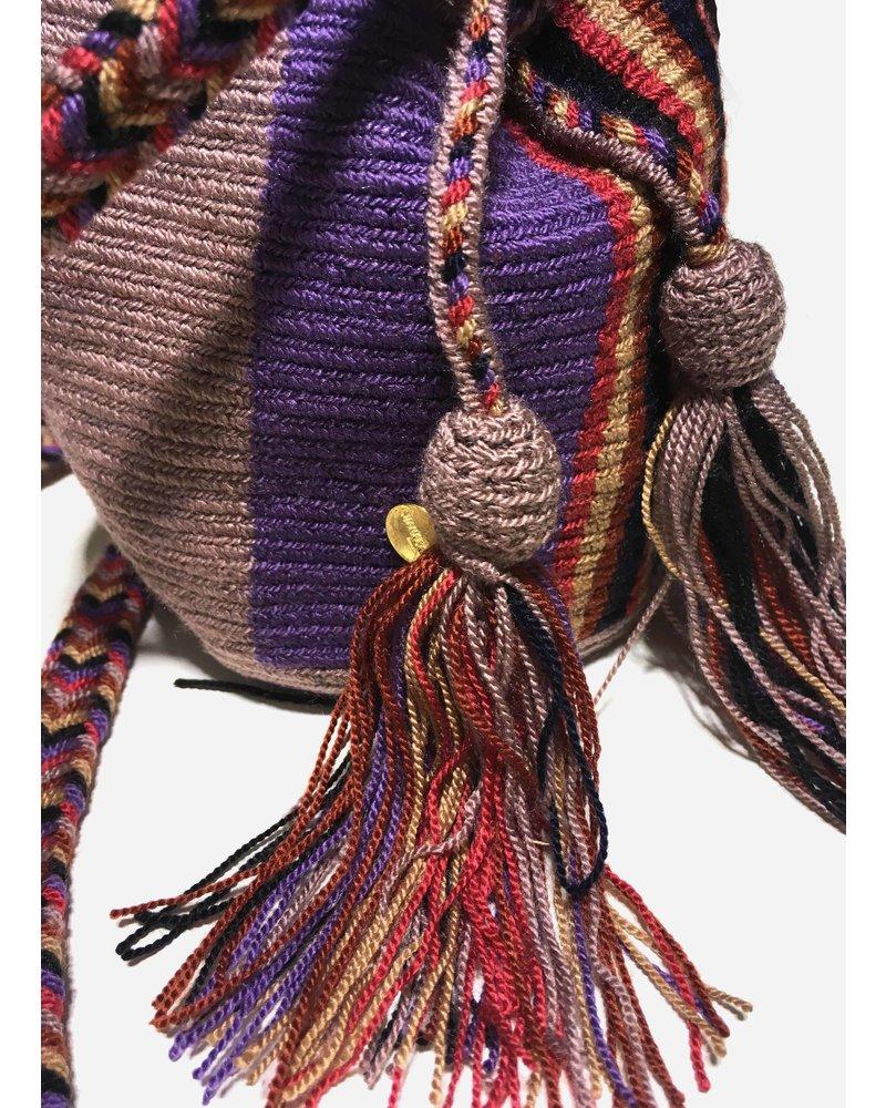 Guanabana extra small Wayuu bag 1427