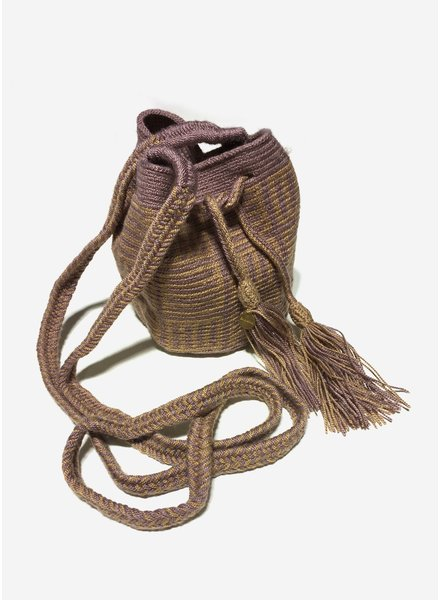 Guanabana extra small Wayuu bag 1448
