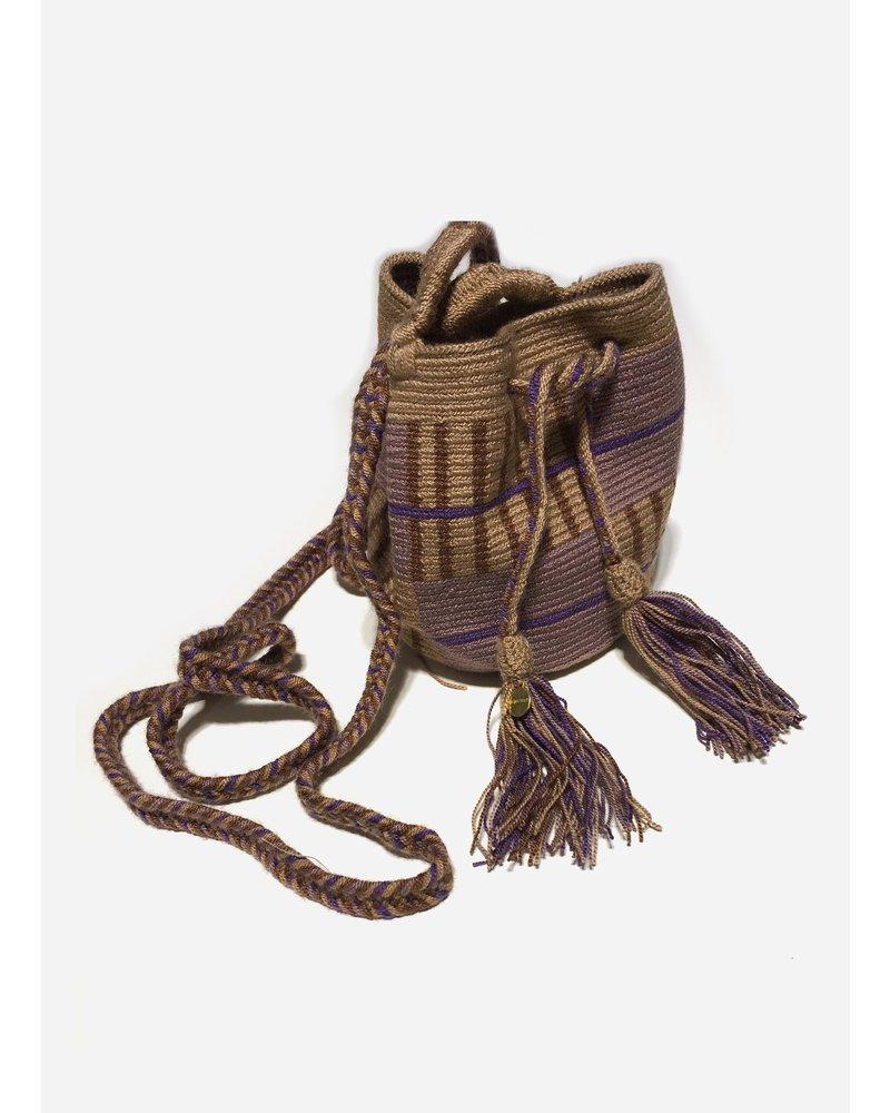 Guanabana extra small Wayuu bag 1462