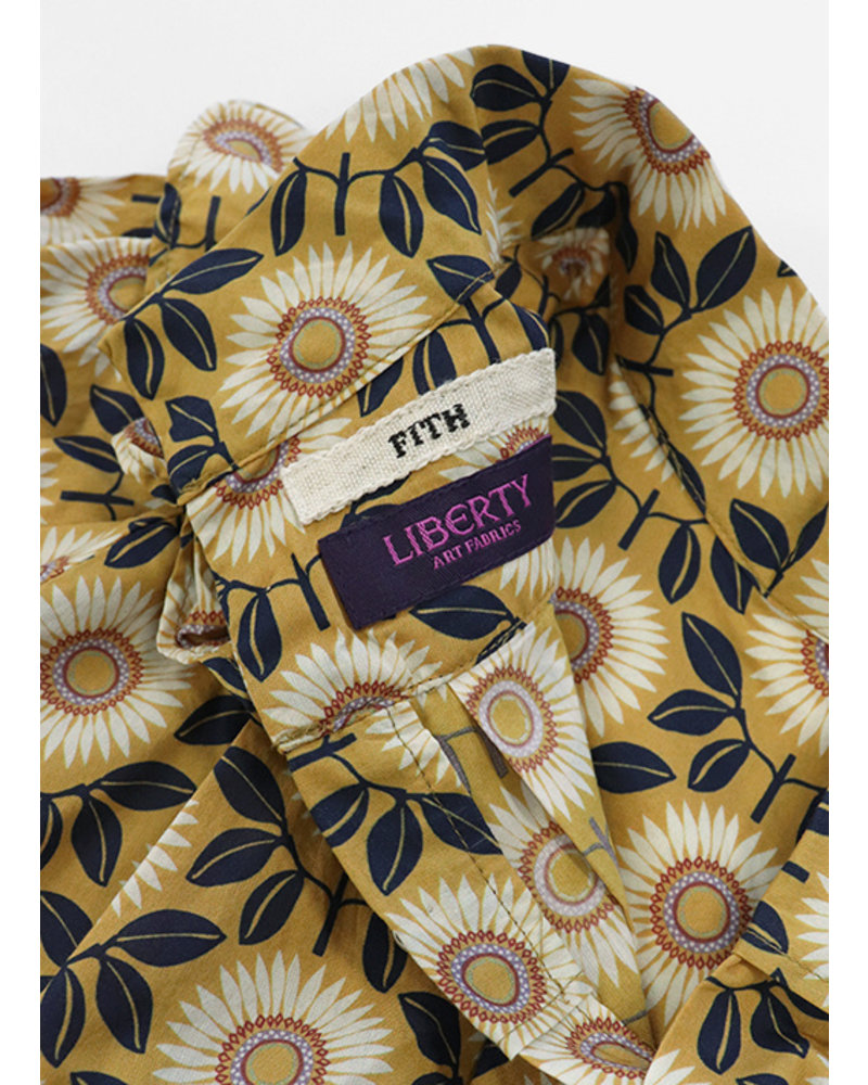 Fith liberty print blouse yellow