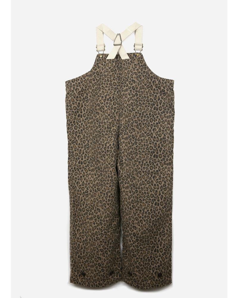 East end highlanders deck pants leopard