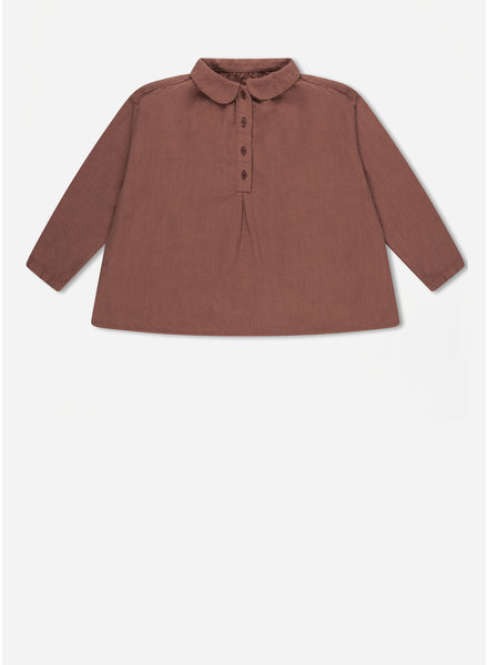 Repose peter pan blouse - russet