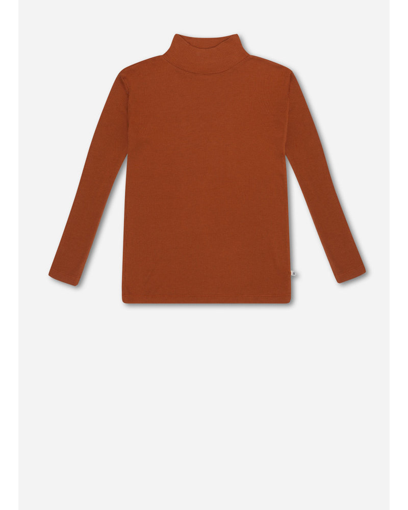 Repose turtle neck - warm hazel