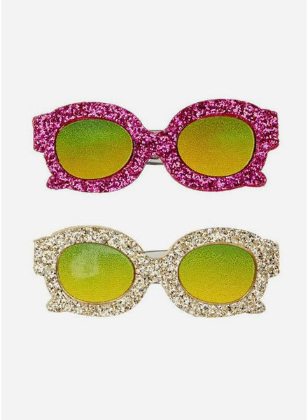 Mimi and Lula glittery glasses clips