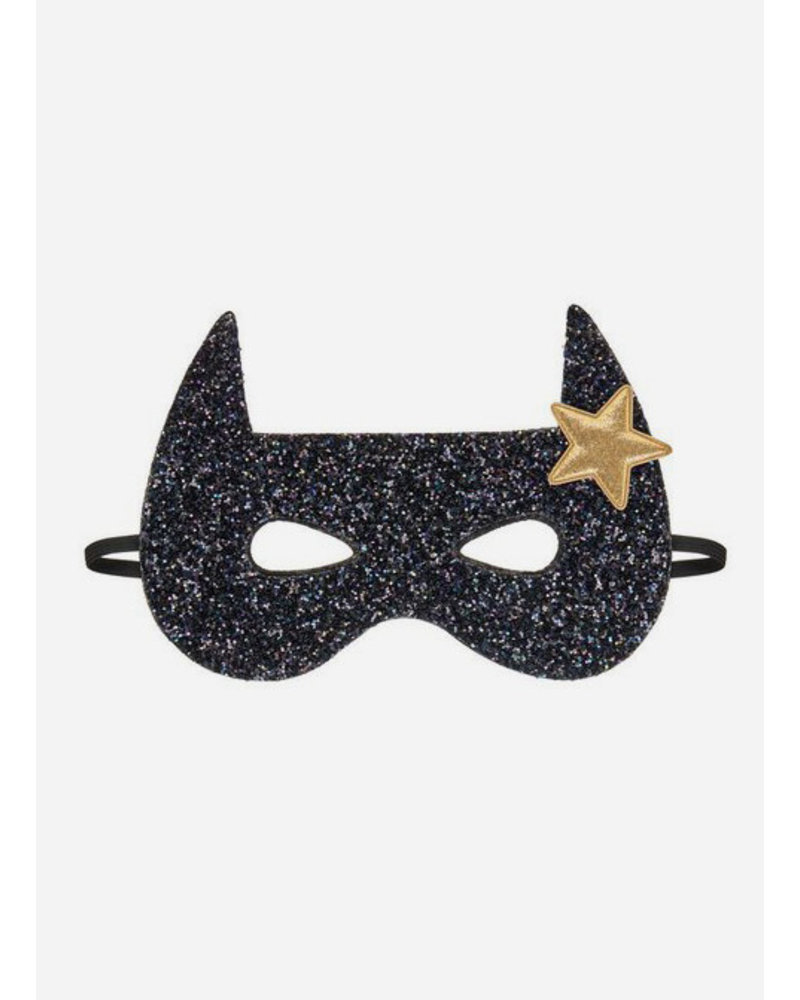 Mimi and Lula bat superhero mask black