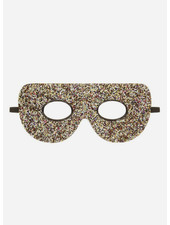 Mimi and Lula glitter super hero mask gold