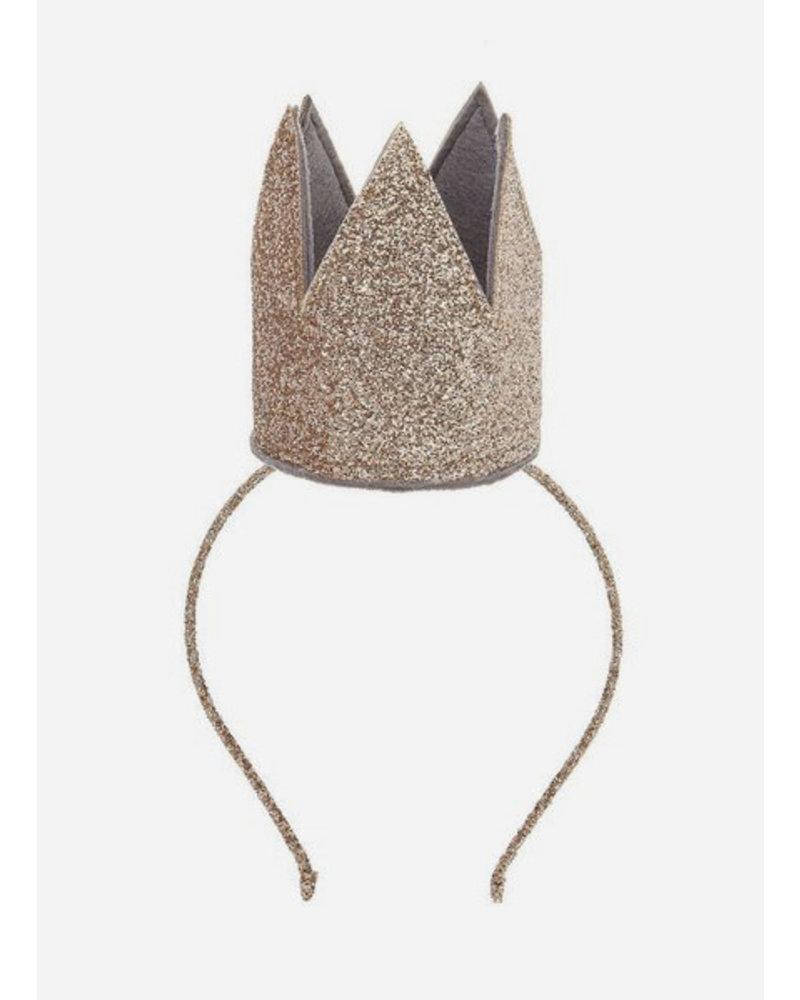 Mimi and Lula glitter crown alice gold