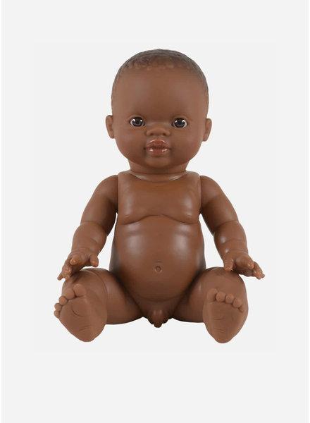 Minikane jongens pop petite garcon d'afrique yeux fonces
