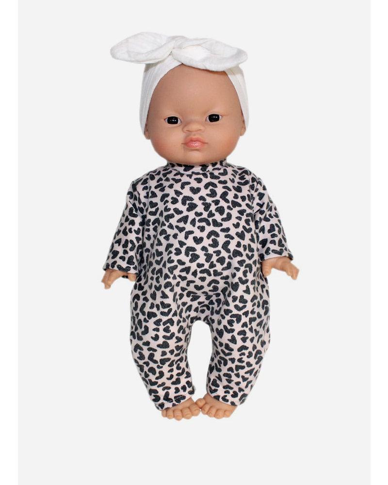 Minikane bodysuit cheeta