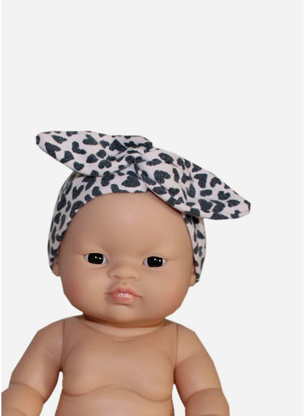 Minikane headband cheeta