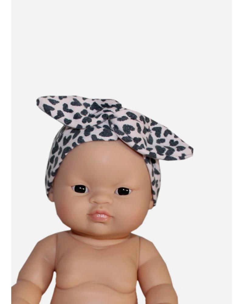 Minikane headband cheeta