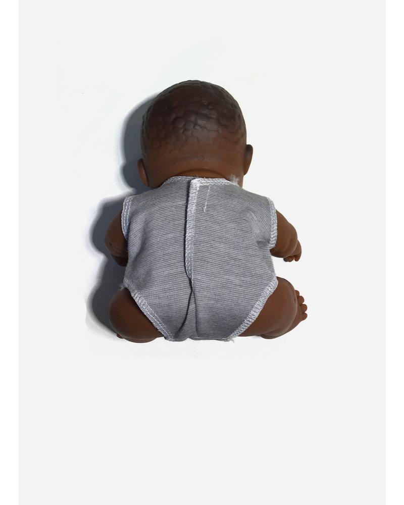 Minikane body mini peque jersey gris