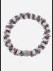 Bon Dep kknekki grey blue pink stripe