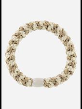 Bon Dep kknekki beige ivory stripe