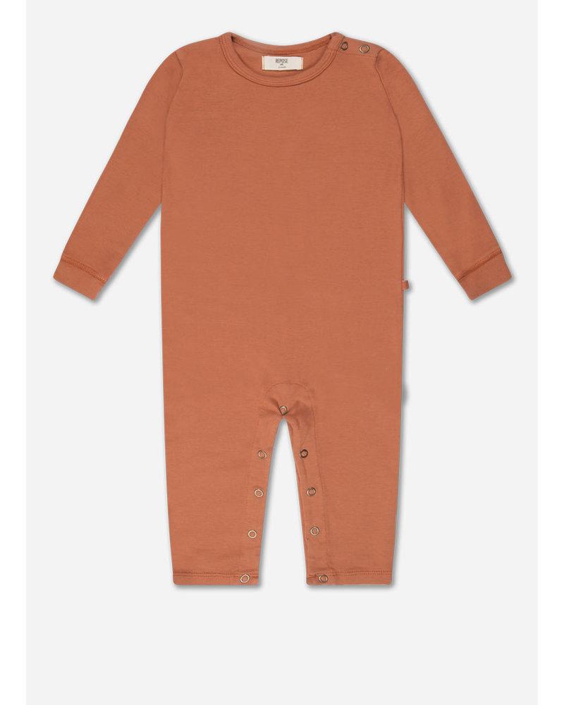 Repose minikin 1. bodysuit - warm caramel