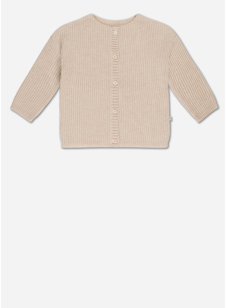 Repose knit cardigan - soft white