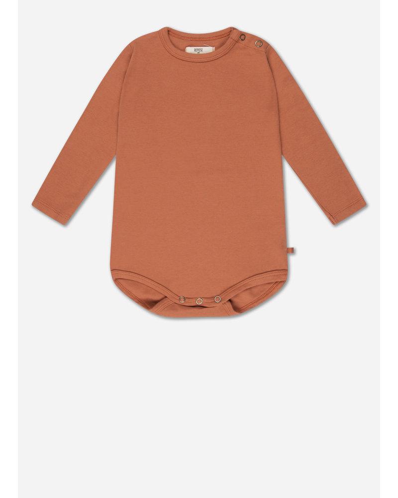 Repose minikin 2. babysuit - warm caramel
